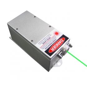 2000mW 532nm اللون الأخضر ليزر DPSS النظام